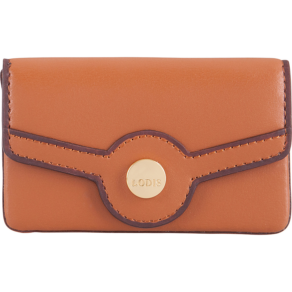 Lodis Rodeo RFID Maya Card Case Toffee - Lodis Business Accessories - Work Bags & Briefcases, Business Accessories