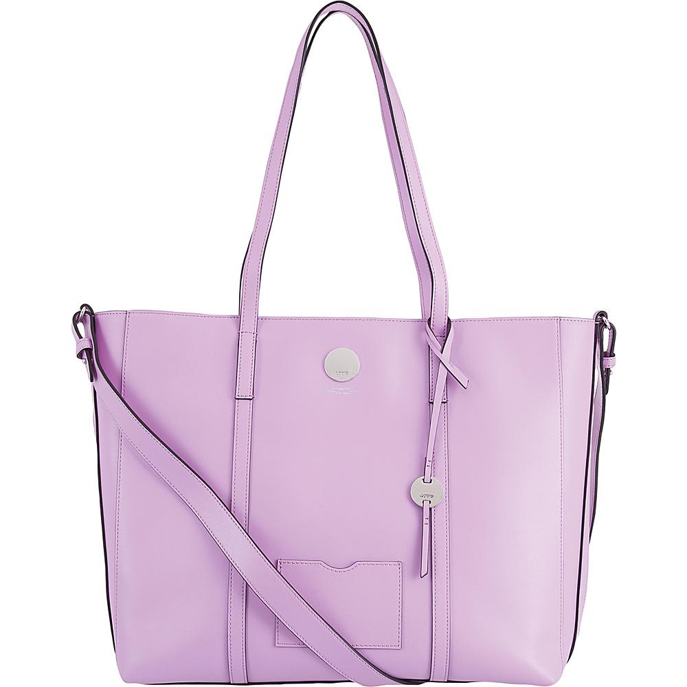 Lodis Laguna RFID Nelly Medium Tote Lavender - Lodis Leather Handbags - Handbags, Leather Handbags