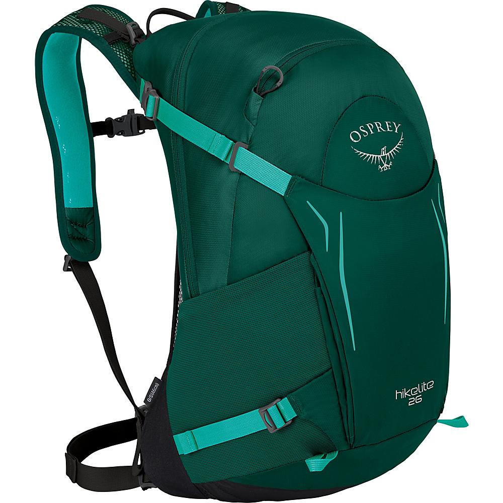 Osprey Hikelite 26 Hiking Backpack Aloe Green - Osprey Day Hiking Backpacks - Outdoor, Day Hiking Backpacks