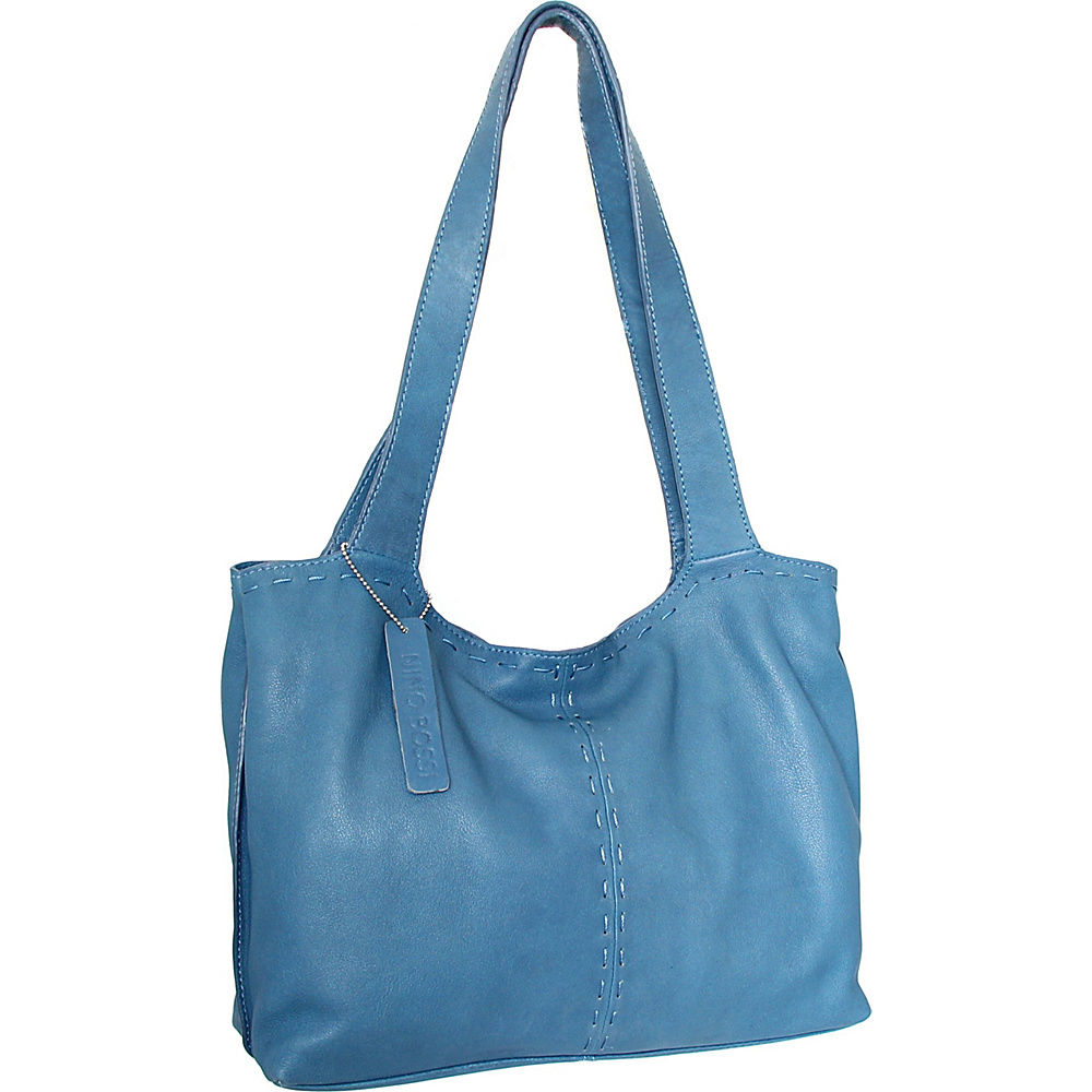 Nino Bossi Susie Satchel Denim - Nino Bossi Leather Handbags - Handbags, Leather Handbags