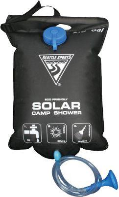 Seattle Sports PVC Free Solar Shower - 5 Gallon Black - Seattle Sports Outdoor Accessories