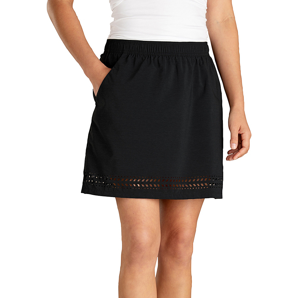 Toad & Co Womens Sunkissed Skort XS - Black - Toad & Co Womens Apparel - Apparel & Footwear, Women's Apparel