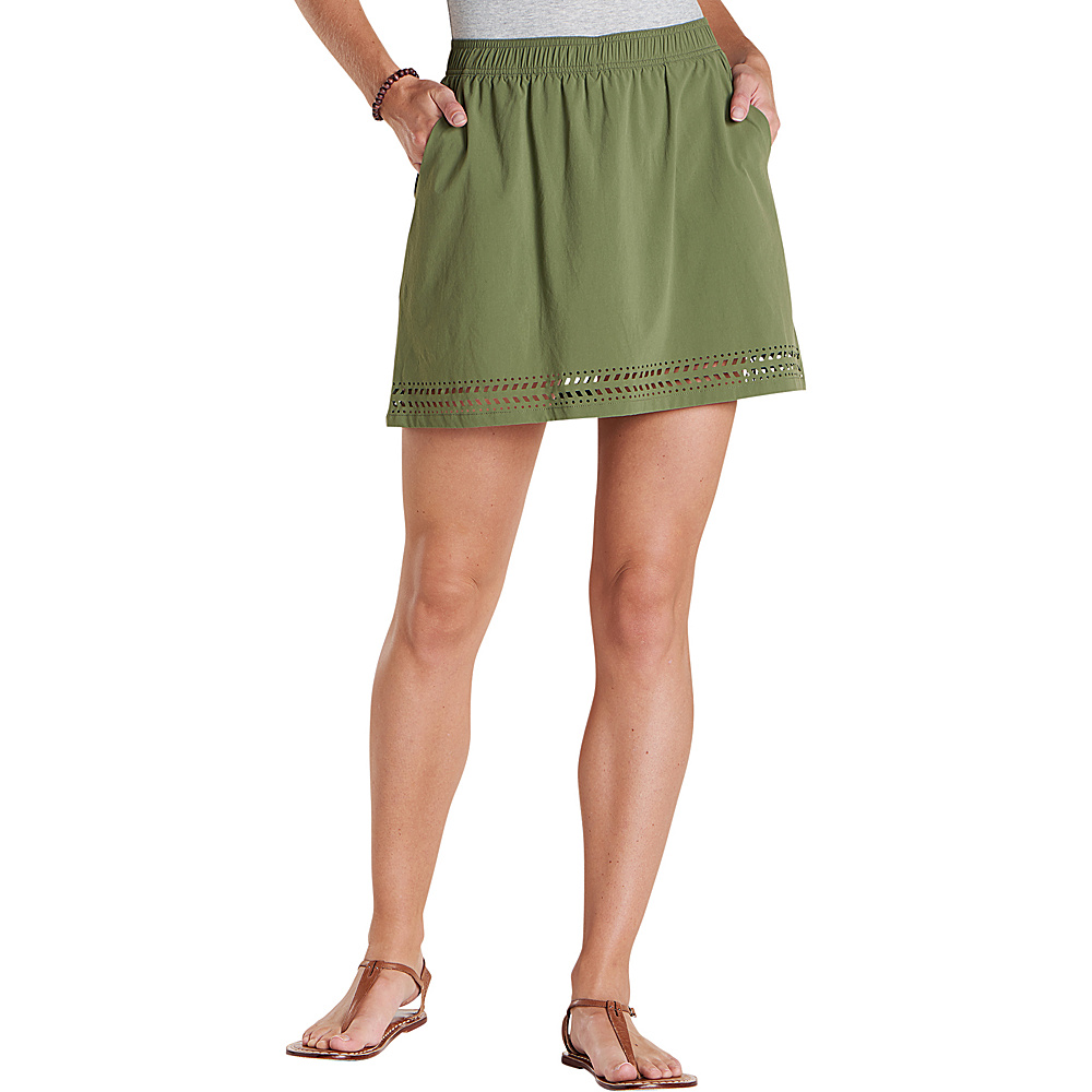 Toad & Co Womens Sunkissed Skort XS - Thyme - Toad & Co Womens Apparel - Apparel & Footwear, Women's Apparel
