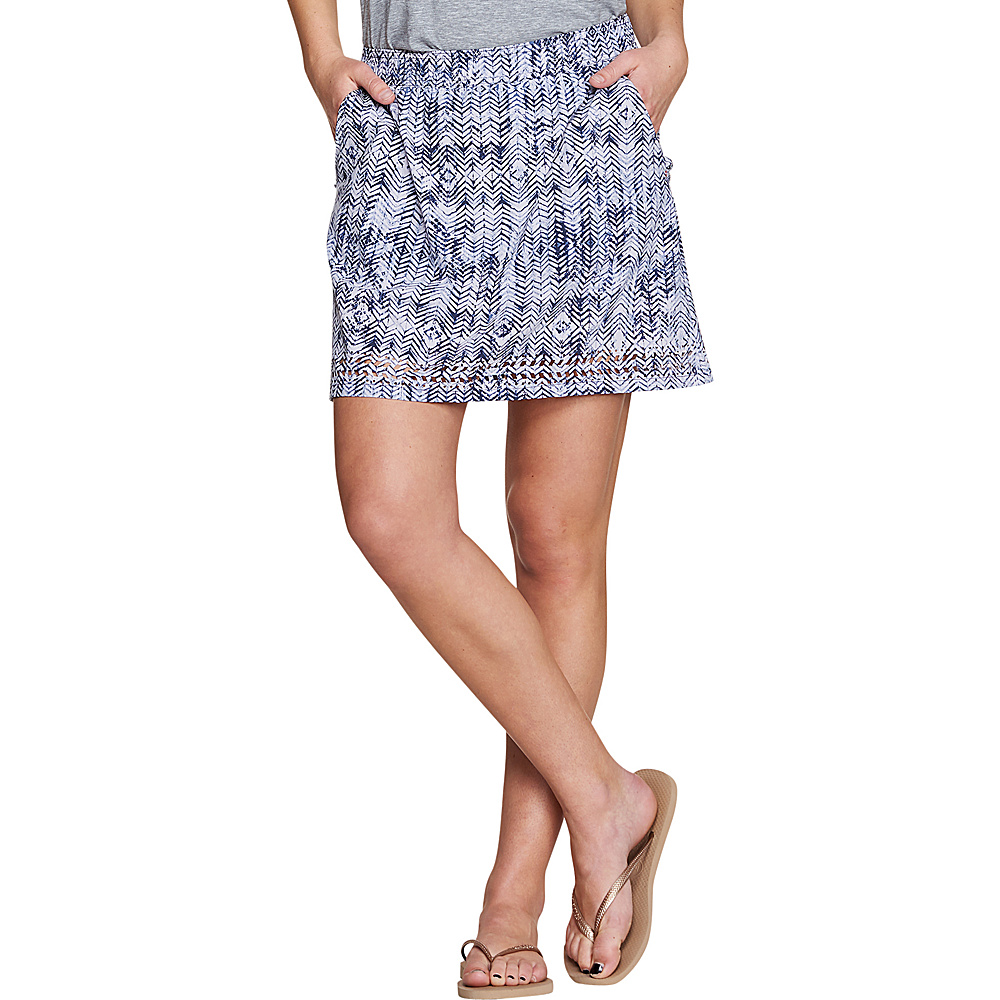 Toad & Co Womens Sunkissed Skort XS - Thistle Herringbone Print - Toad & Co Womens Apparel - Apparel & Footwear, Women's Apparel