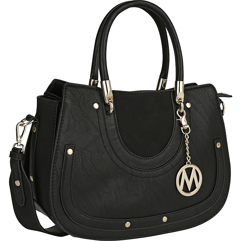 MKF Collection by Mia K. Farrow Casey Shoulder Bag Black - MKF Collection by Mia K. Farrow Manmade Handbags - Handbags, Manmade Handbags