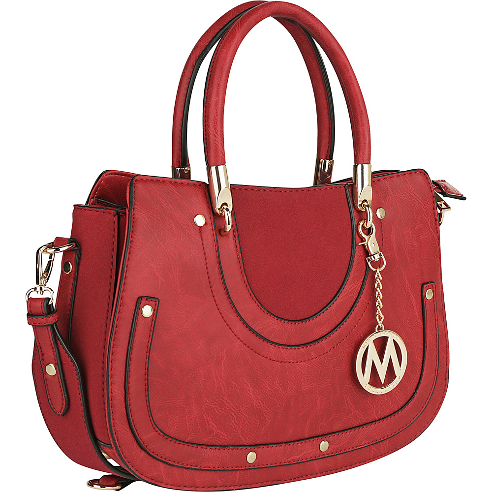 MKF Collection by Mia K. Farrow Casey Shoulder Bag Red - MKF Collection by Mia K. Farrow Manmade Handbags - Handbags, Manmade Handbags