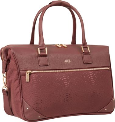 Vince Camuto Luggage Ameliah 17 inch Weekender FIG - Vince Camuto Luggage Travel Duffels