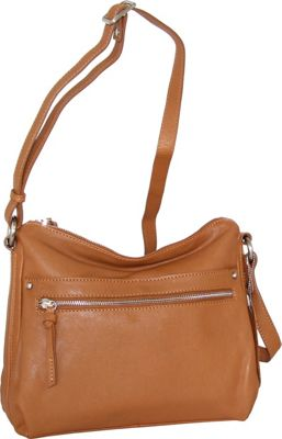 Nino Bossi Lidia Crossbody Cognac - Nino Bossi Leather Handbags