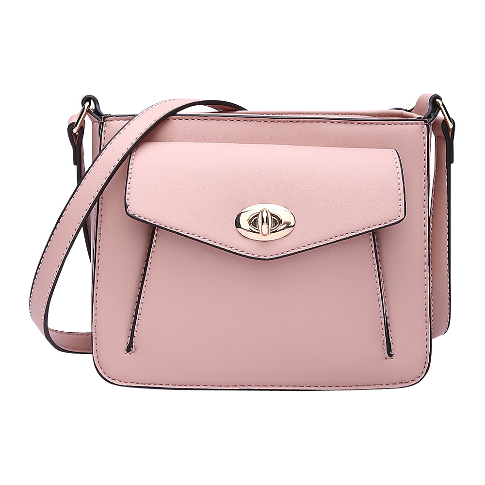 MKF Collection by Mia K. Farrow Darleen Crossbody Light Pink - MKF Collection by Mia K. Farrow Manmade Handbags - Handbags, Manmade Handbags