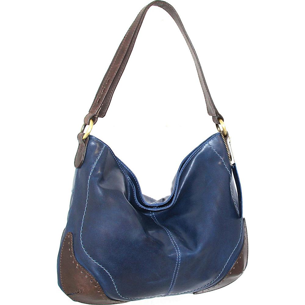 Nino Bossi Brandy Hobo Denim - Nino Bossi Leather Handbags - Handbags, Leather Handbags