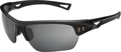 Under Armour Eyewear Octane Sunglasses Satin Black/Black/Graphite Polarized Mirror - Under Armour Eyewear Sunglasses
