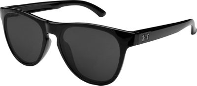 Under Armour Eyewear Scheme Sunglasses Storm Gloss Black/Gray Polar Lens - Under Armour Eyewear Sunglasses