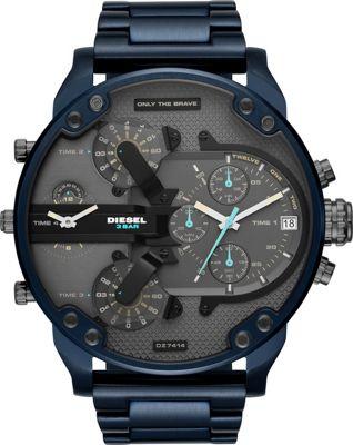 Diesel Watches Men's Mr. Daddy 2.0 Chronograph Blue Stain...