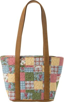 Donna Sharp Leah Patchwork Tote, Women's, Sunny Patch