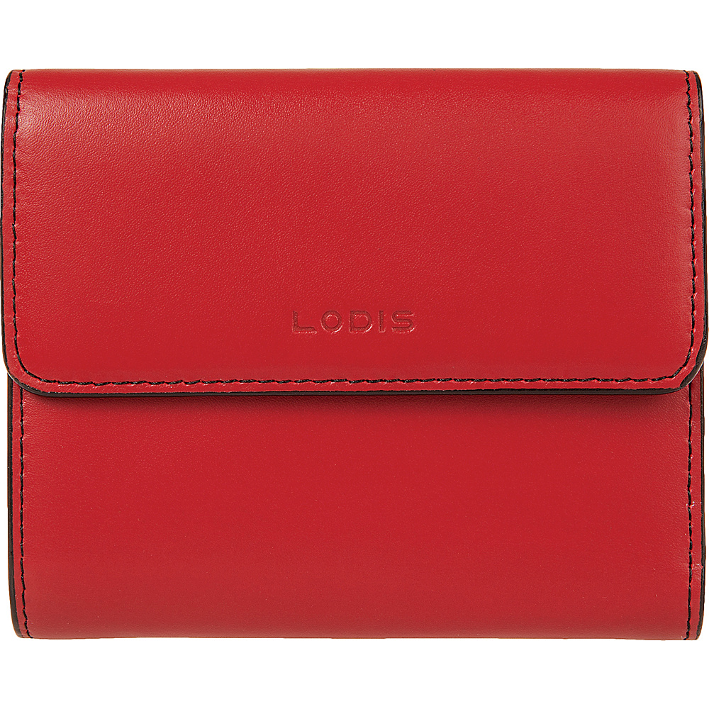 Lodis Audrey RFID French Purse with Removable ID Holder New Red - Lodis Womens Wallets - Women's SLG, Women's Wallets