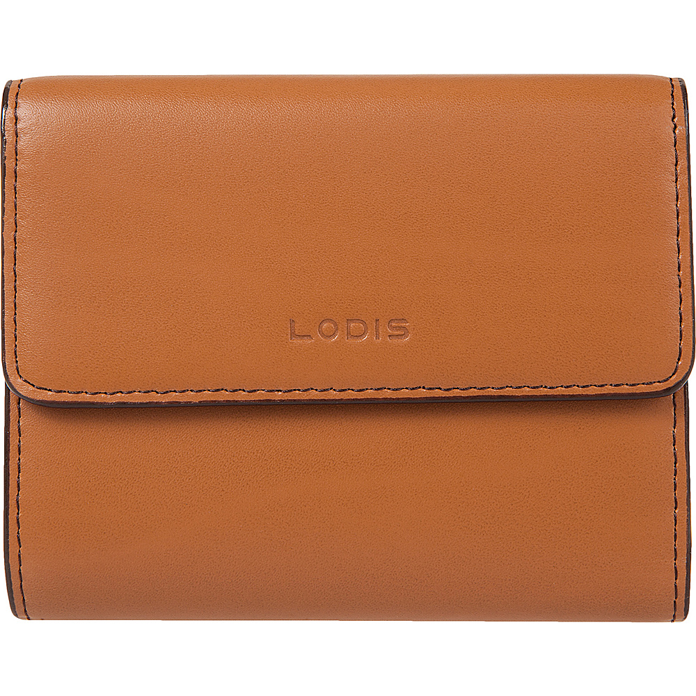 Lodis Audrey RFID French Purse with Removable ID Holder Toffee - Lodis Womens Wallets - Women's SLG, Women's Wallets