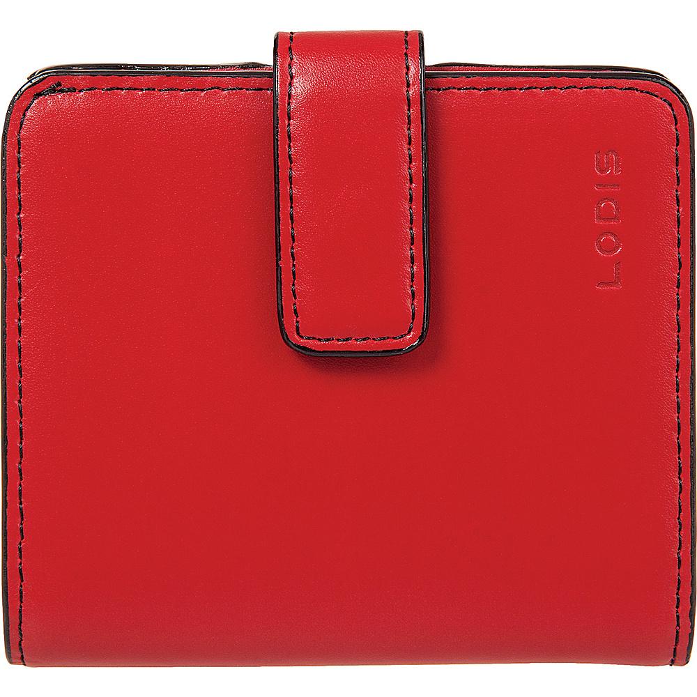 Lodis Audrey Card Case Petite Wallet - Red - Women's SLG, Women's Wallets