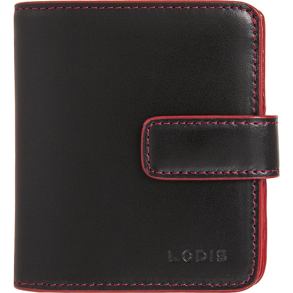 Lodis Audrey RFID Card Case Petite Wallet New Black - Lodis Womens Wallets - Women's SLG, Women's Wallets