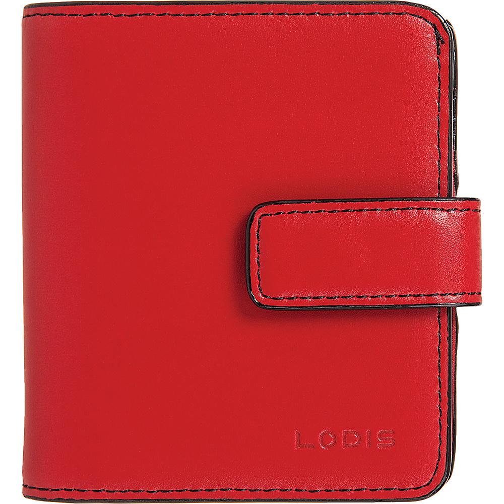 Lodis Audrey RFID Card Case Petite Wallet New Red - Lodis Womens Wallets - Women's SLG, Women's Wallets