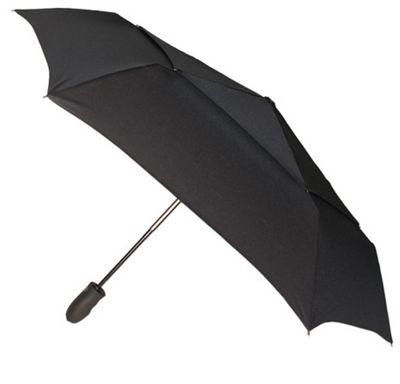 ShedRain Windjammer Auto Open Umbrella - Solid Colors Black - ShedRain Umbrellas and Rain Gear