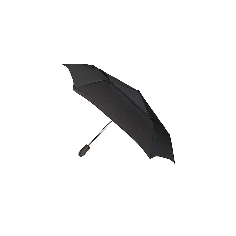 ShedRain Windjammer Auto Open Umbrella - Solid Colors Black - ShedRain Umbrellas and Rain Gear - Travel Accessories, Umbrellas and Rain Gear