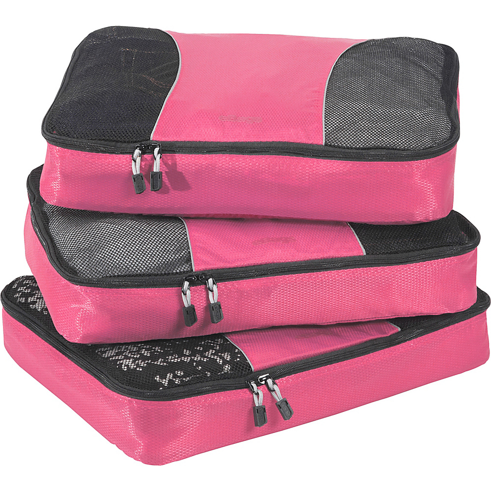 eBags Large Packing Cubes - 3pc Set Peony - eBags Travel Organizers - Travel Accessories, Travel Organizers