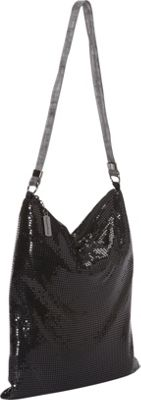 Whiting and Davis Relaxed Brass Mesh Mini Hobo - Shoulder Bag