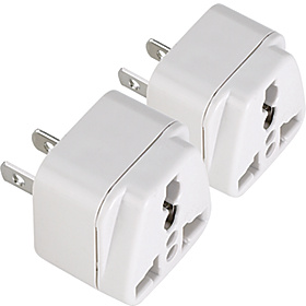 Japan/Taiwan/Americas Adapter Plug - set of 2 As Shown