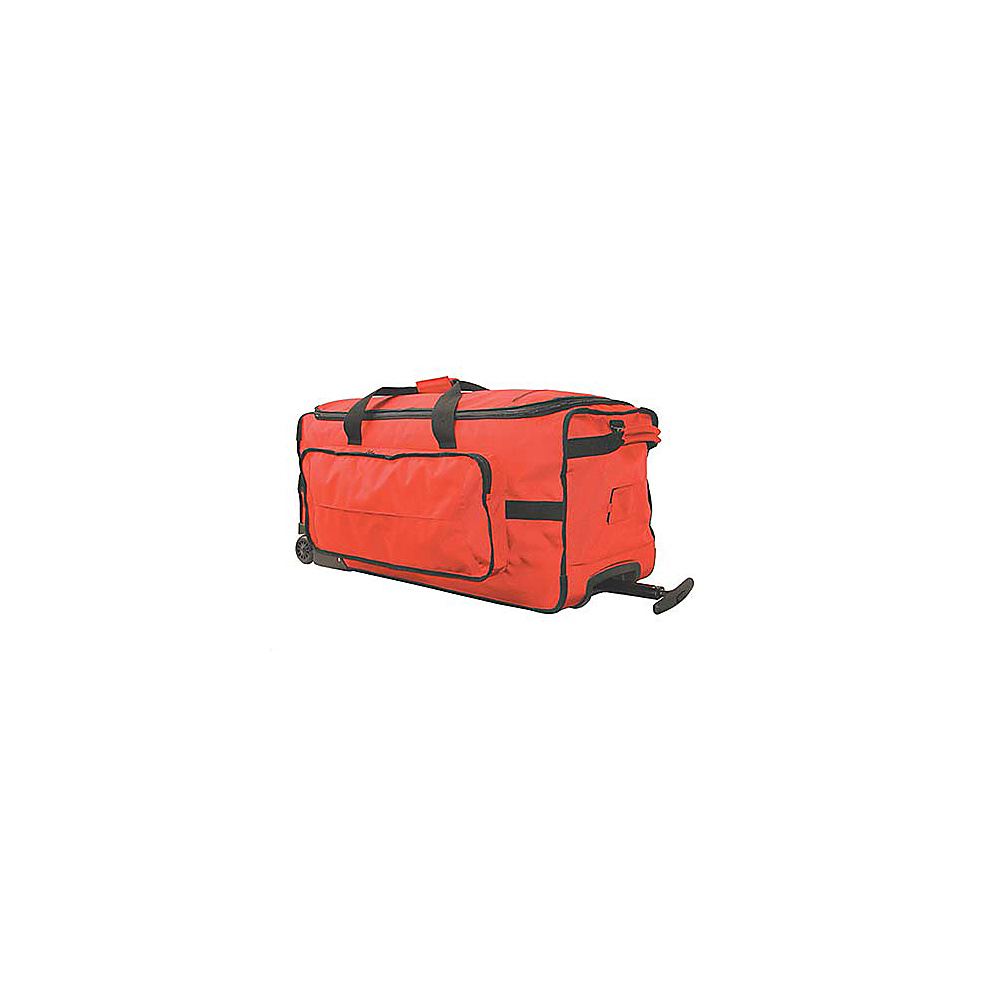 Netpack Transporter Wheeled Duffel - Large - Wine Red - Luggage, Rolling Duffels