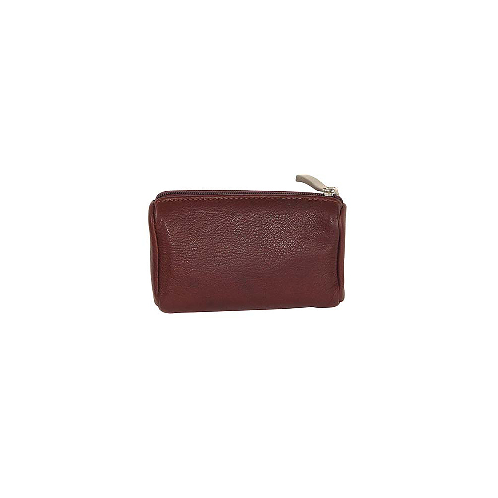 Osgoode Marley Cashmere Small Coin Purse Brandy
