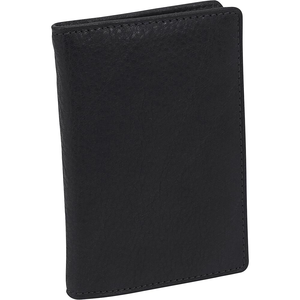 Osgoode Marley Cashmere Flip Fold - Black - Work Bags & Briefcases, Men's Wallets