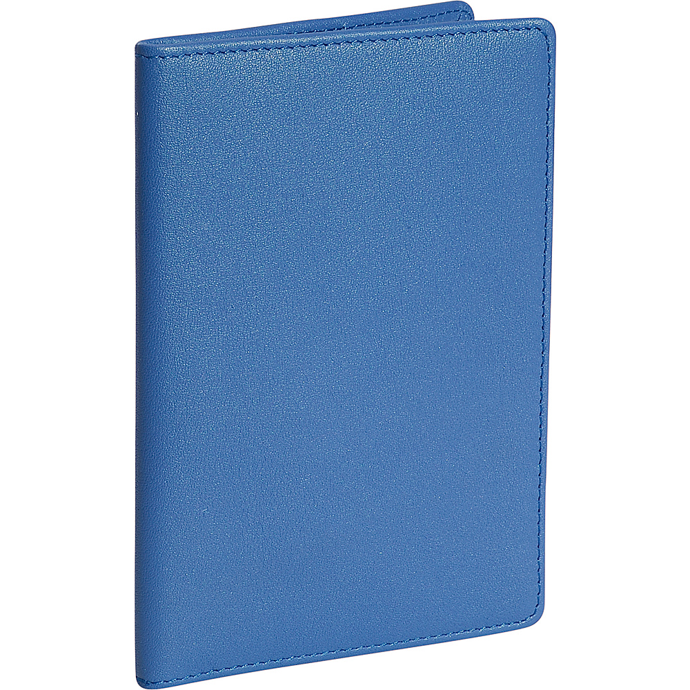 Royce Leather Plain Passport Jacket Royce Blue - Royce Leather Travel Wallets - Travel Accessories, Travel Wallets