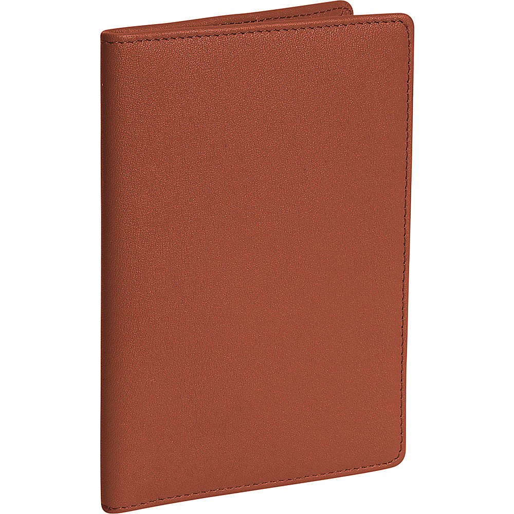 Royce Leather Plain Passport Jacket - Tan - Travel Accessories, Travel Wallets