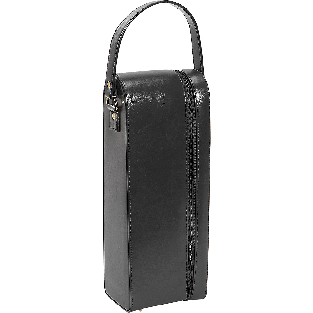 Royce Leather Single Wine Presentation Case - Genuine - Outdoor, Outdoor Accessories