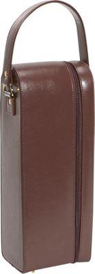 Royce Leather Single Wine Presentation Case - Genuine