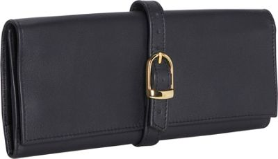 Royce Leather Jewelry Roll - Top Grain Leather - Blue