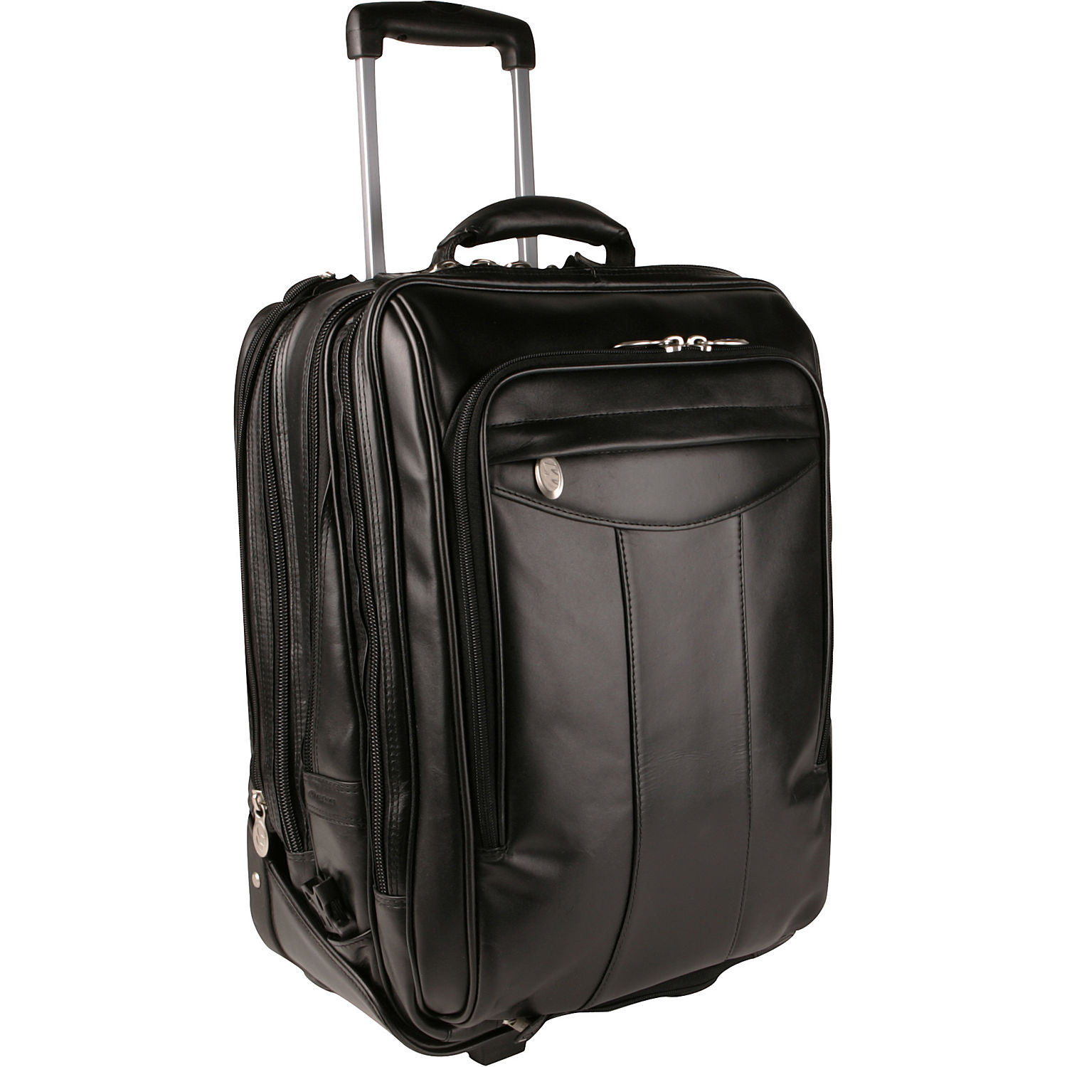 Mcklein Usa Division Leather Wheeled 17 Quot Laptop Backpack