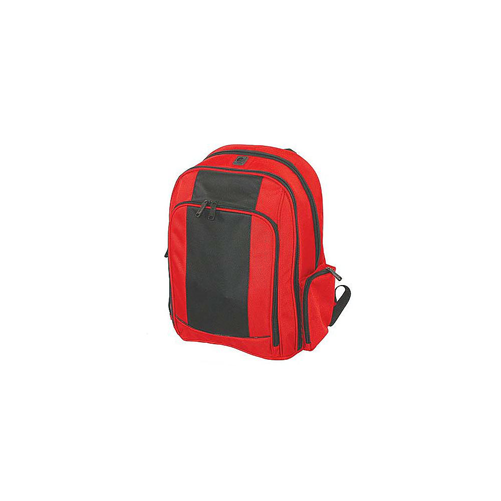 Netpack Triple Guest Computer Backpack - Red/Black - Backpacks, Business & Laptop Backpacks