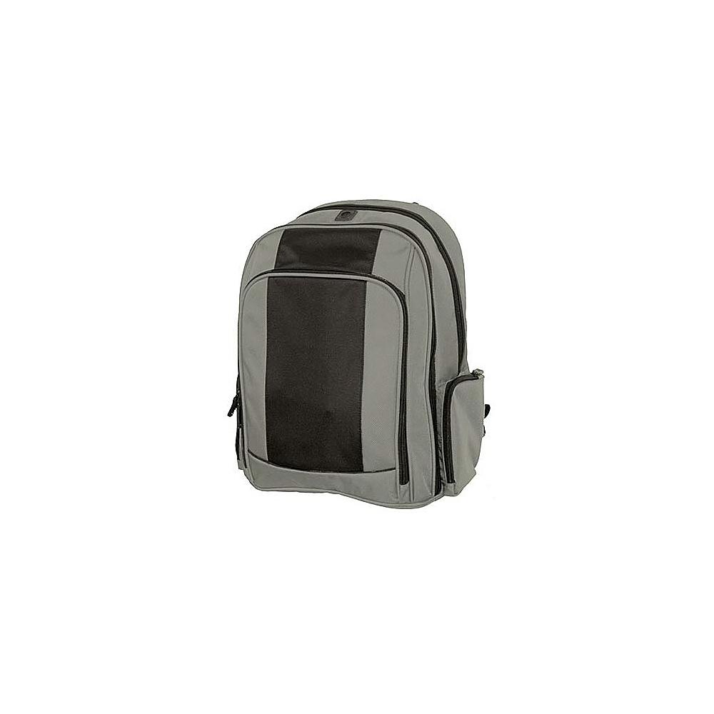 Netpack Triple Guest Computer Backpack - Grey/Black - Backpacks, Business & Laptop Backpacks