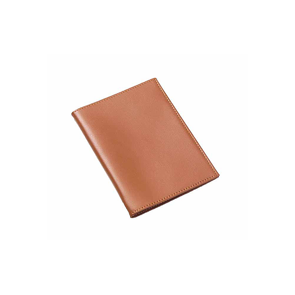 Clava Bridle Leather Passport Cover - Bridle Tan - Travel Accessories, Travel Wallets