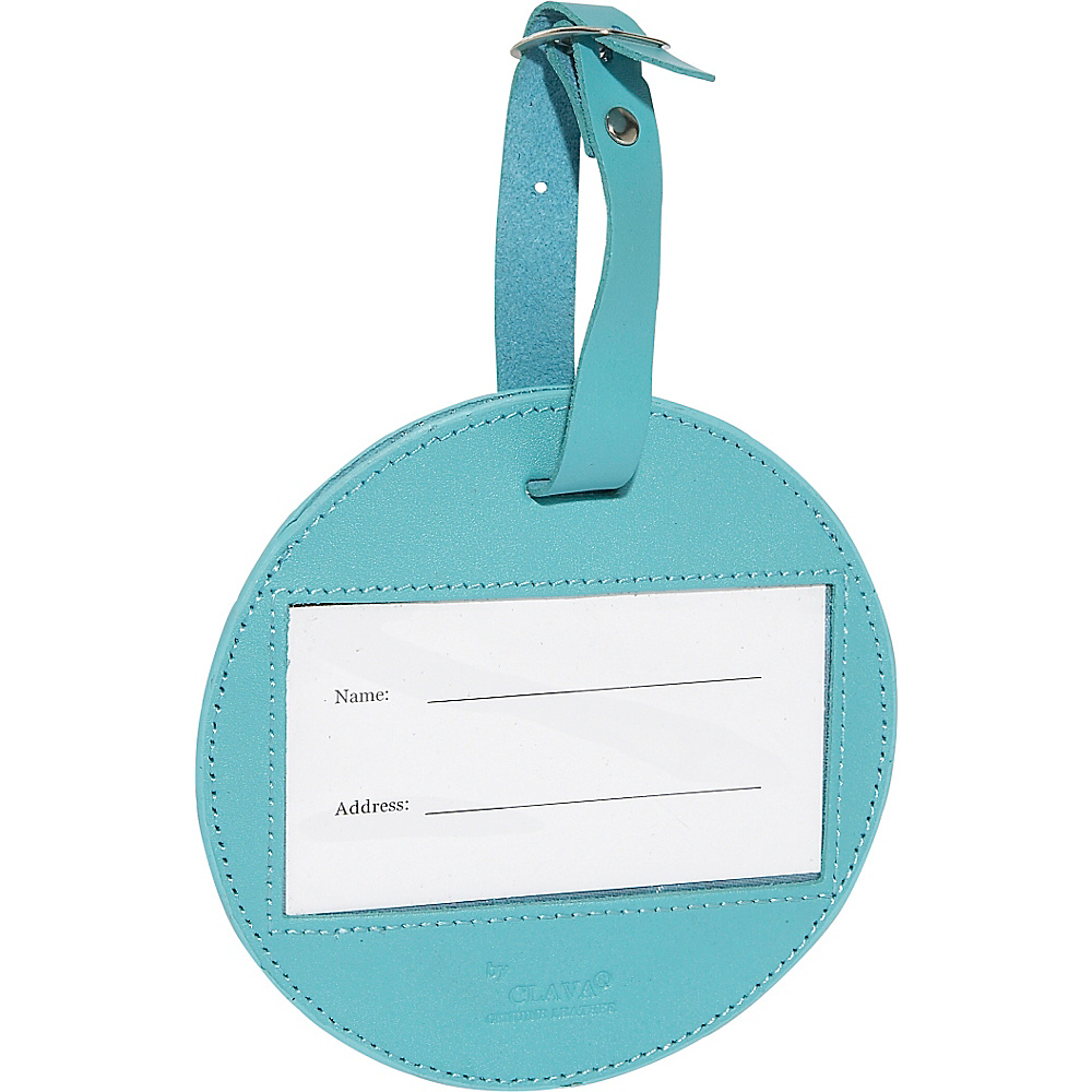 Clava Color Circle Luggage Tag - CI Aqua - Travel Accessories, Luggage Accessories