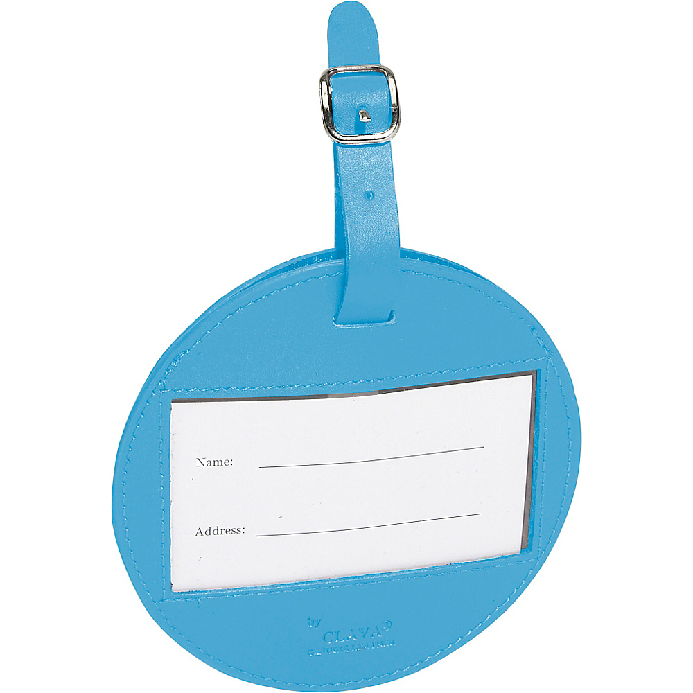 Clava Color Circle Luggage Tag - CI Slate