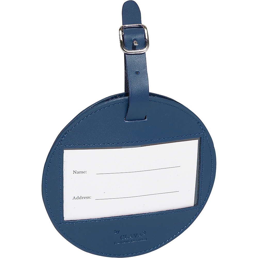 Clava Color Circle Luggage Tag - CI Navy - Travel Accessories, Luggage Accessories