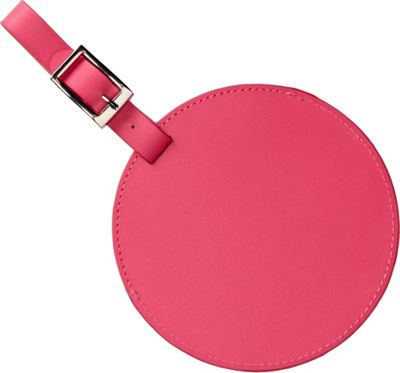 Clava Color Circle Luggage Tag Hot Pink - Clava Luggage Accessories