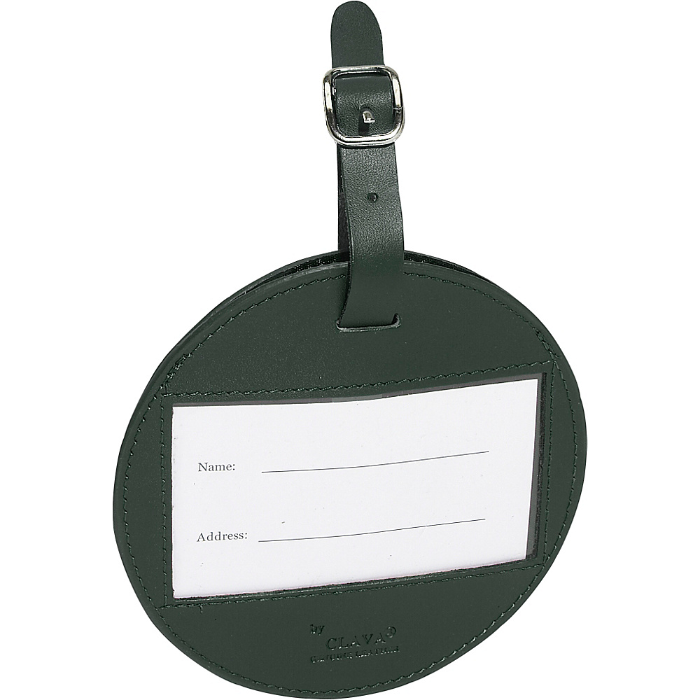 Clava Color Circle Luggage Tag Green - Clava Luggage Accessories - Travel Accessories, Luggage Accessories