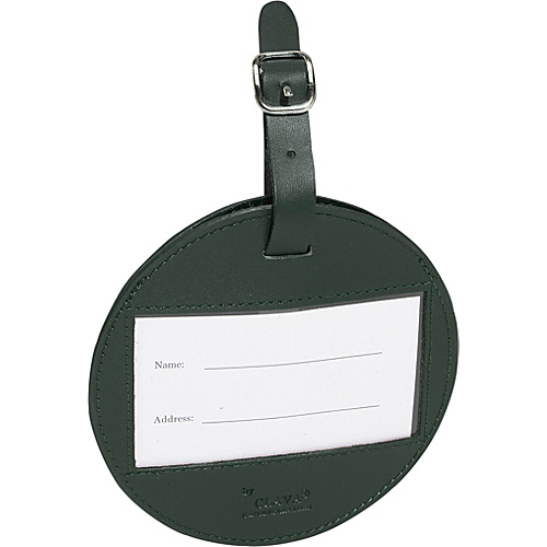 Clava Color Circle Luggage Tag Green - Clava Luggage Accessories