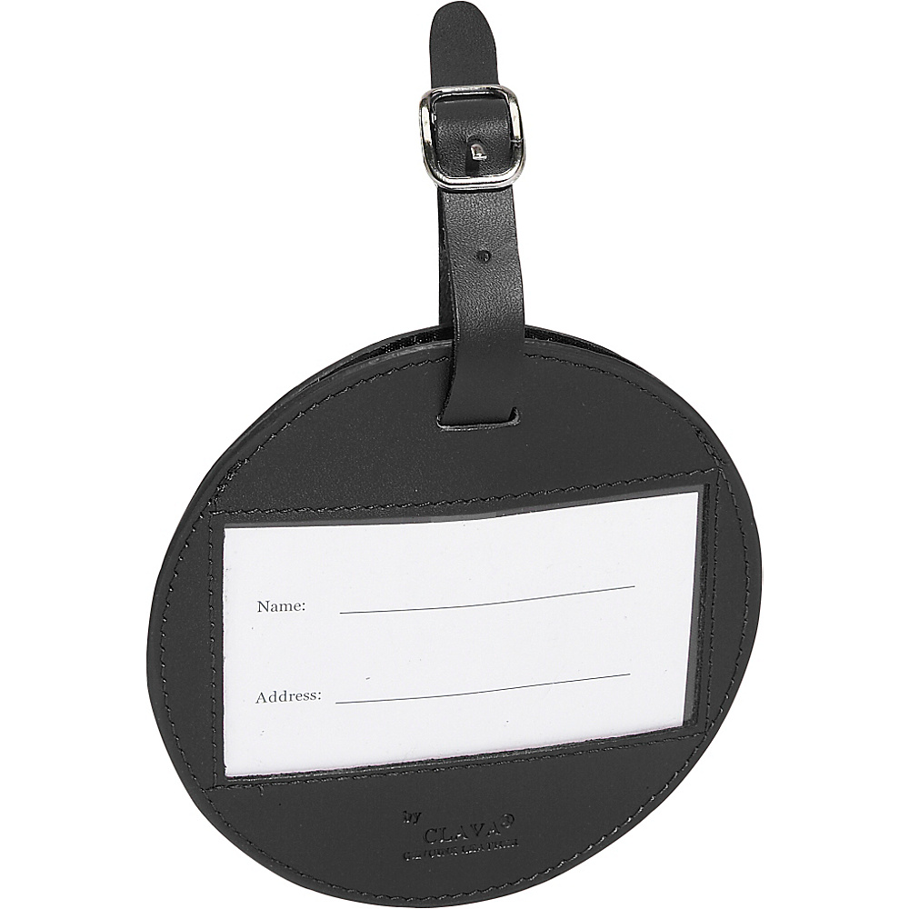 Clava Color Circle Luggage Tag - Cl Black - Travel Accessories, Luggage Accessories