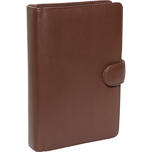 Royce Leather Compact Planner - Coco/Coco