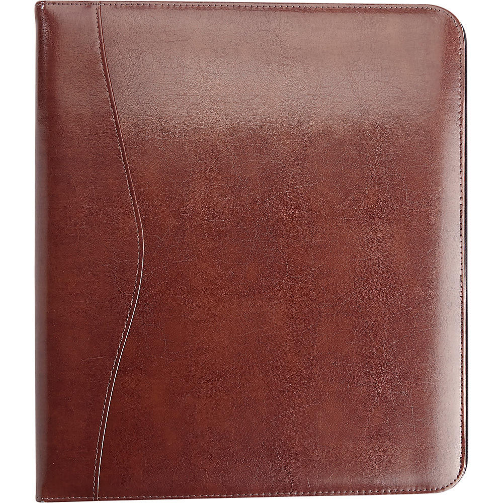 Royce Leather 2 D Ring Binder British Tan - Royce Leather Business Accessories - Work Bags & Briefcases, Business Accessories
