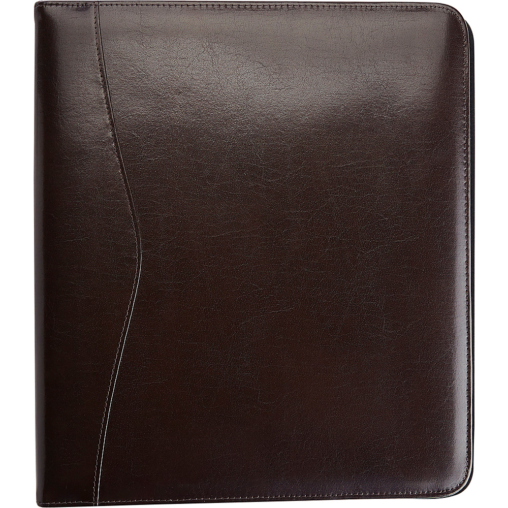 Royce Leather 2 D Ring Binder Chestnut - Royce Leather Business Accessories - Work Bags & Briefcases, Business Accessories